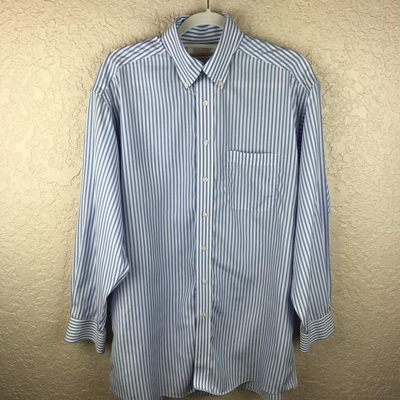 6e03581c2 Gold label Roundtree & Yorke men's striped shirt